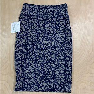 NWT LuLa Roe Women's Cassie Pencil Skirt Sz. Small